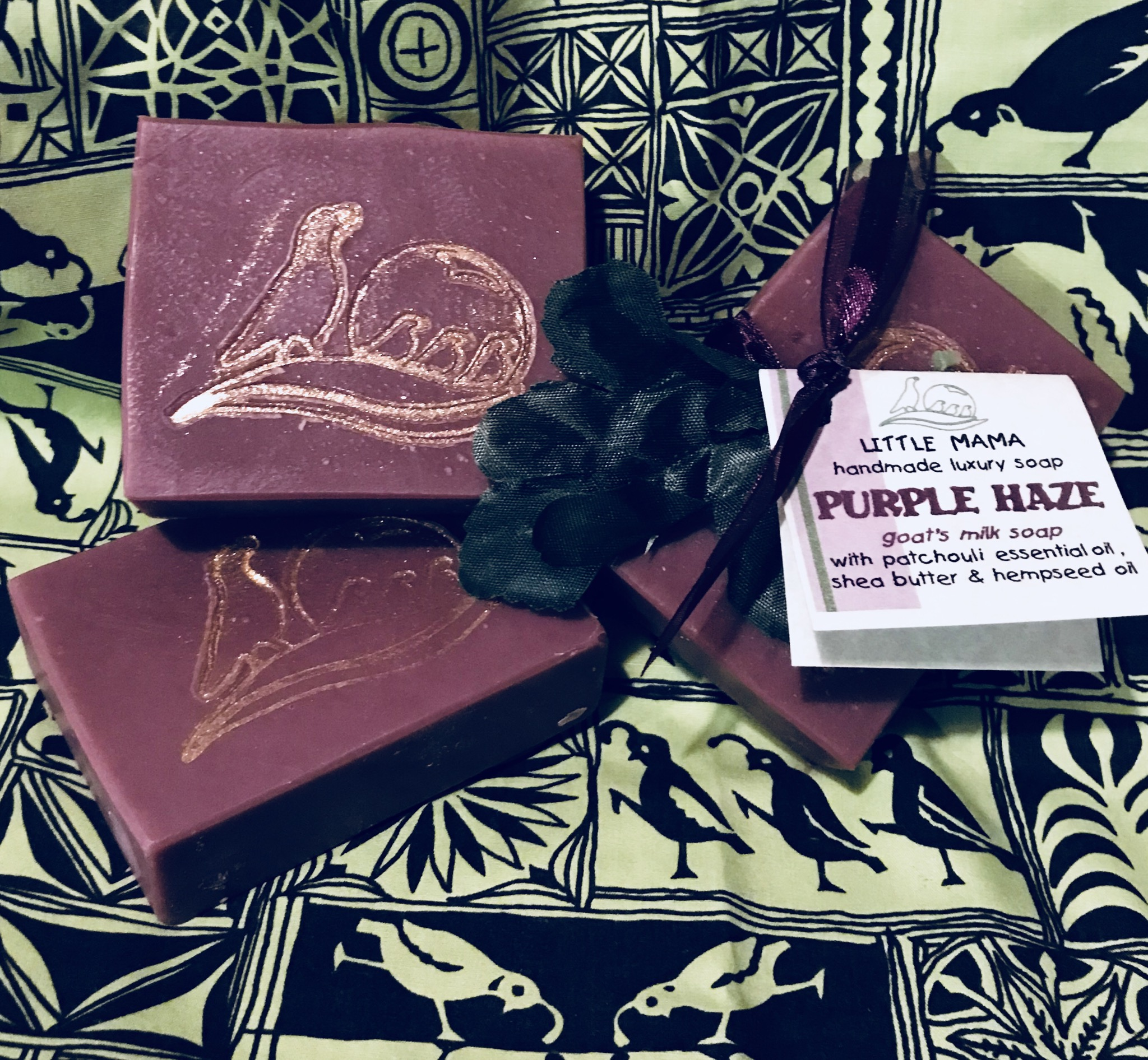 Purple Haze Goat's Milk Soap