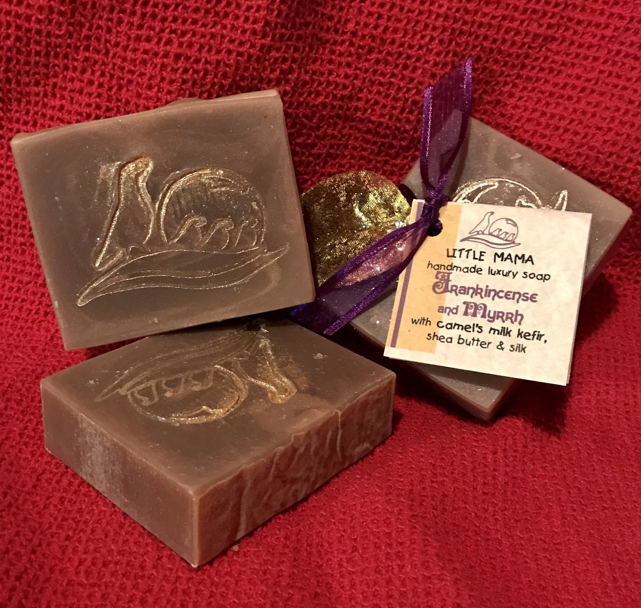 Frankincense & Myrrh Seasonal Soap