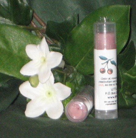 Cherry Creme Sparkle Lip Balm