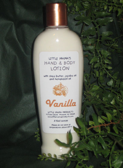 Vanilla Hand and Body Lotion (8 oz.)