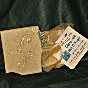 Chamomile, Milk and Honey Goat's Milk kefir Soap
