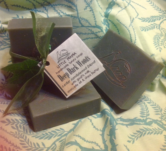 Deep Dark Woods soap