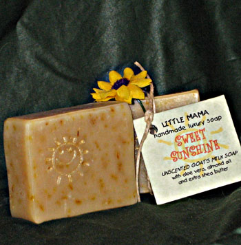 Sweet Sunshine Goat's Milk Soap