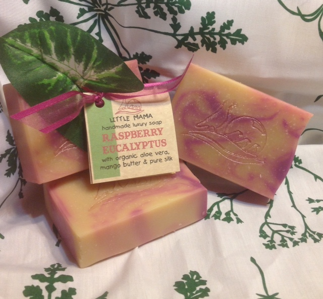 Raspberry Eucalyptus Soap