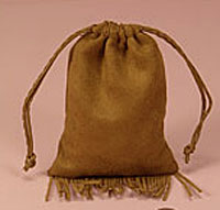 "Western Fringed Fabric ""Suede"" Bags"